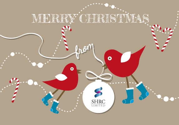 Merry Christmas from everyone at SHRC Limited